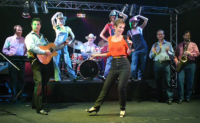 Country western band and performers
