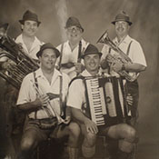 german Om pa pa band with accordion musician