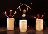 Junk Band drum trio