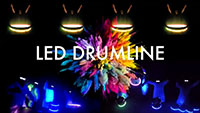 photo of LED Drum Line
