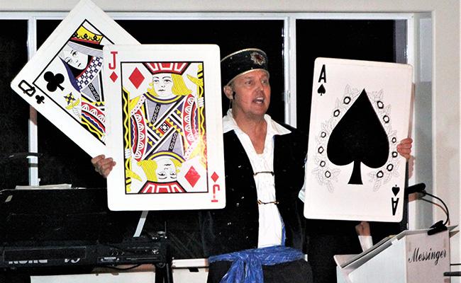 photo of Masquerade magician