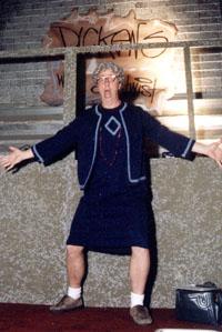 Costumed Church Lady