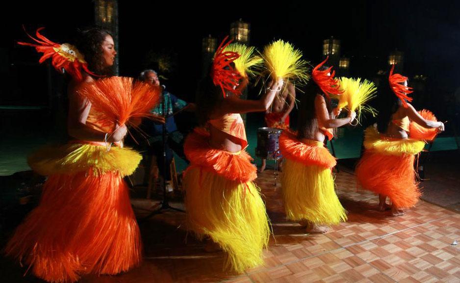 Photo of polynesian dancers