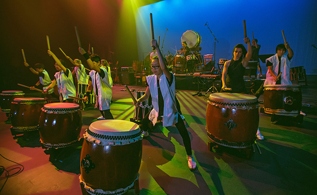 photo of Taiko drummers