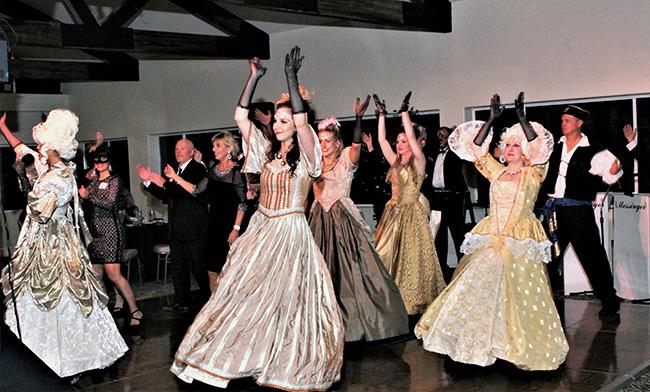 photo of beautiful Masquerade dancers