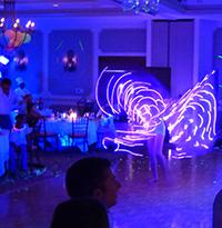 LED glow dancers