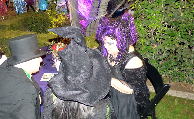 photo of Halloween fortune teller