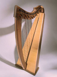 picture of classical harp