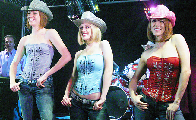 three country western performers