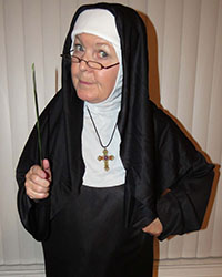 nun impersonator