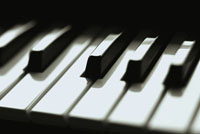 piano key board