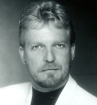 head shot of single male hypnotist with goatee